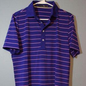 New Ralph Lauren RLX Purple Golf Polo Small